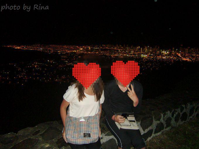 タンタラスの丘で記念撮影イメージ図